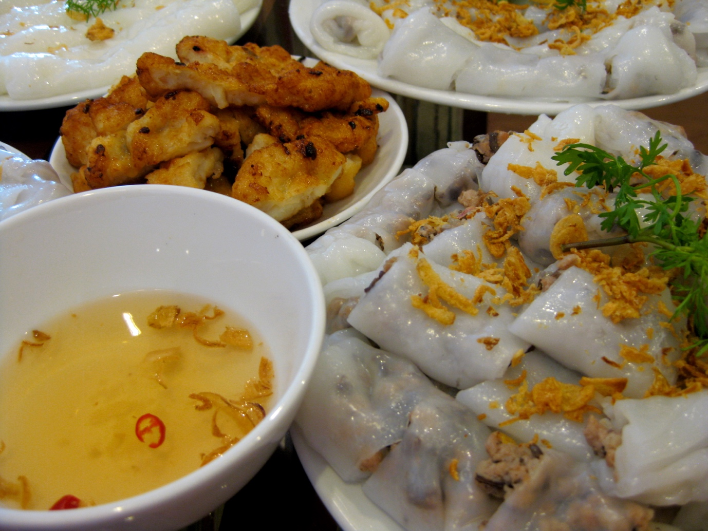 Banh Cuon Cha Muc in Halong city