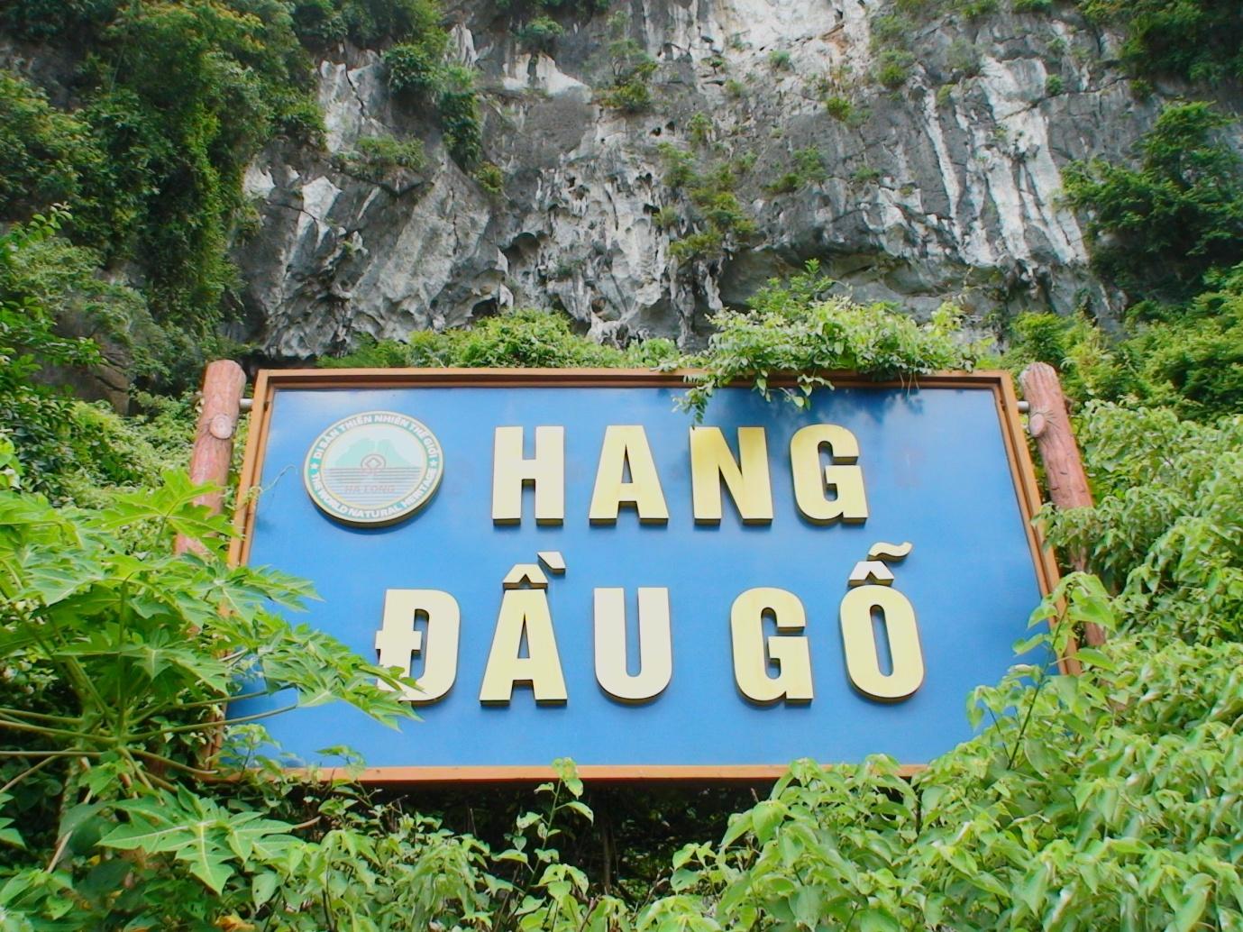 Dau Go Cave area