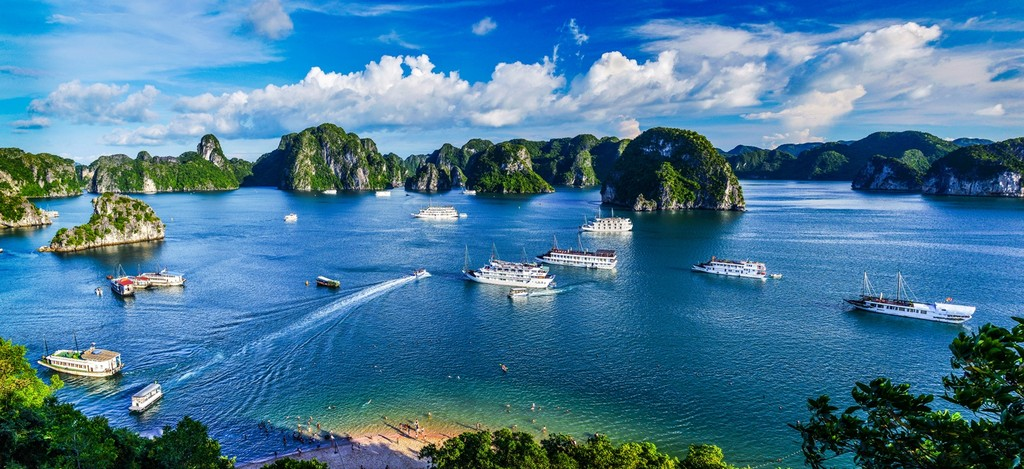Halong's natural beauty