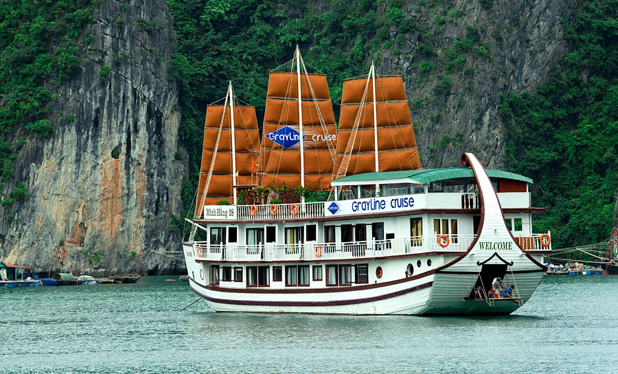 Gray Line Halong – Your home in Halong Bay