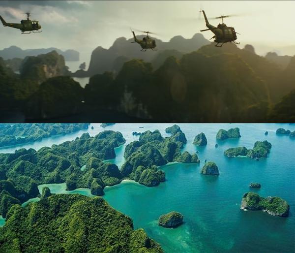 Halong in Kong-skull island films