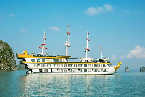 Best cruise in Halong Bay - Get on the Dragon Legend Cruise for a majestic trip