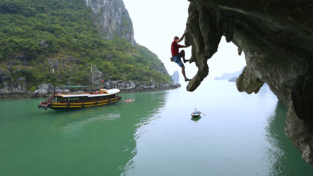 Halong Bay for adventure tourists