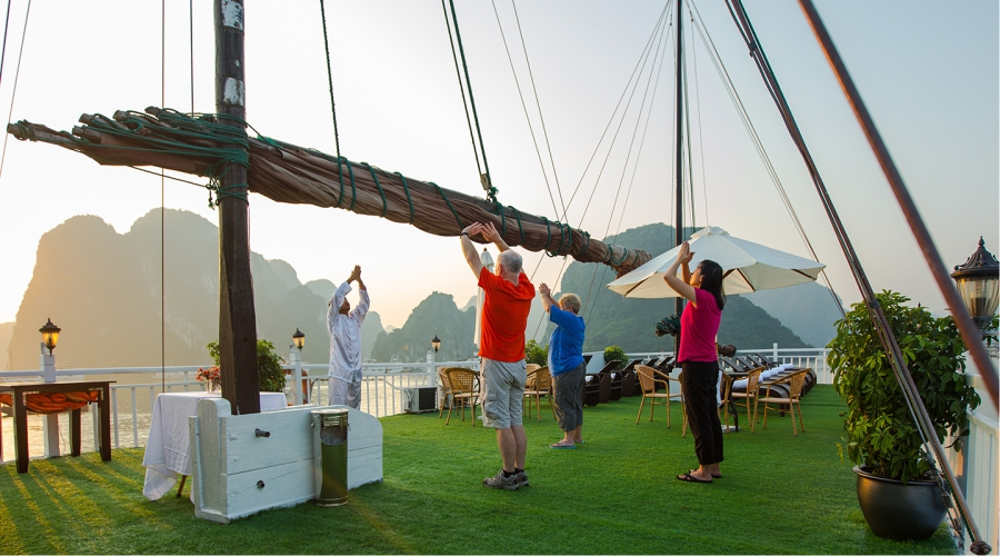 The 3D2N cruise tour in Halong Bay