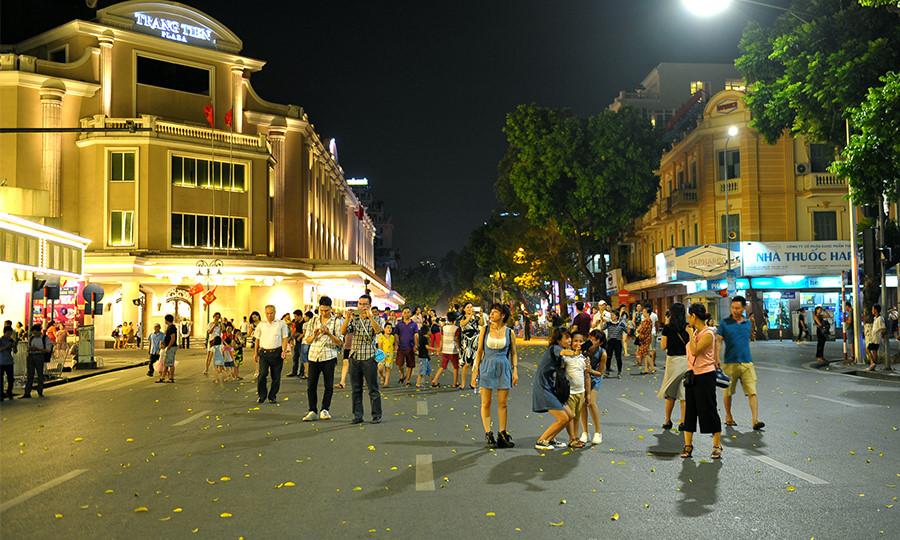 Hanoi walking streets