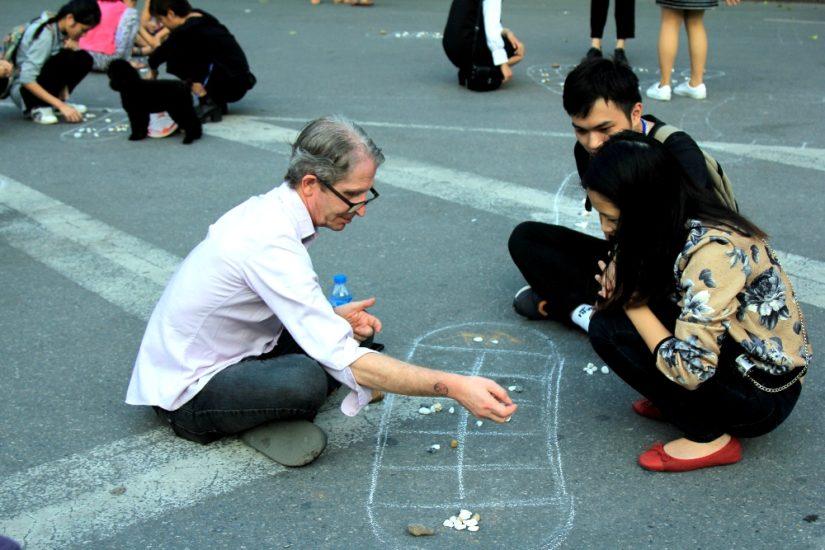 Mandarin square capturing