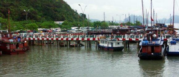 From Bai Chay Pier to Cat Ba town