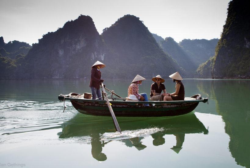 Morning in Vung Vieng fishing village
