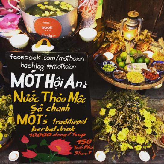 Cheap Chanh Sa tea in Hoian