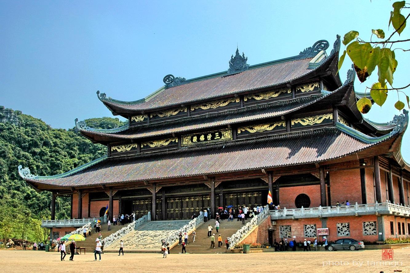 New Bai Dinh Temple in Hoa Lu, Ninh Binh