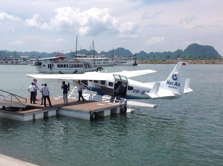 Seaplane to Halong