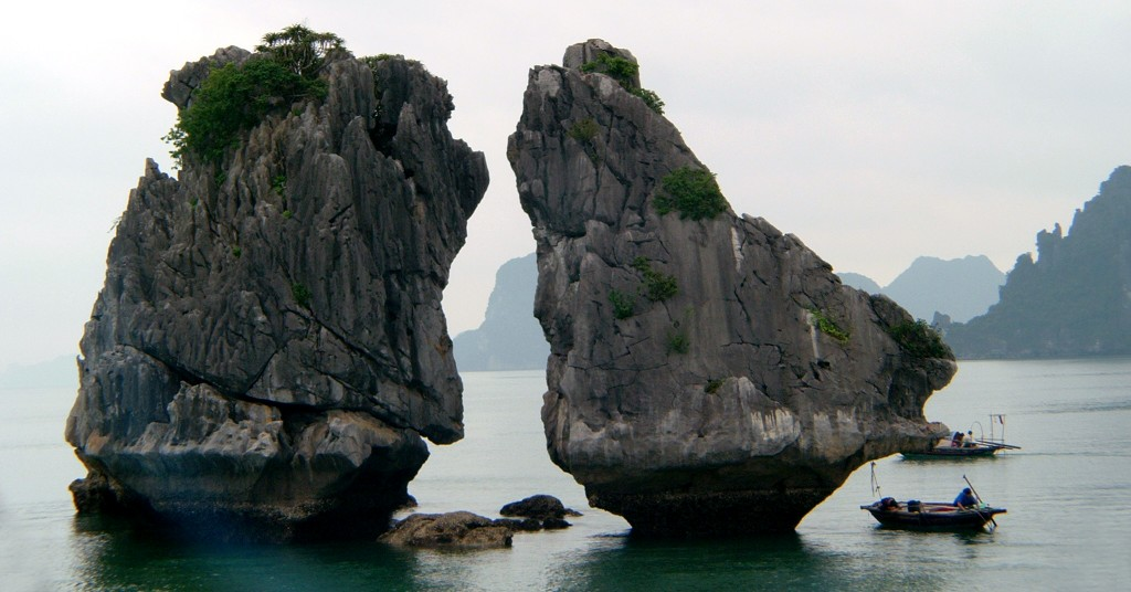 Trong Mai is an ounstanding site in Halong Bay