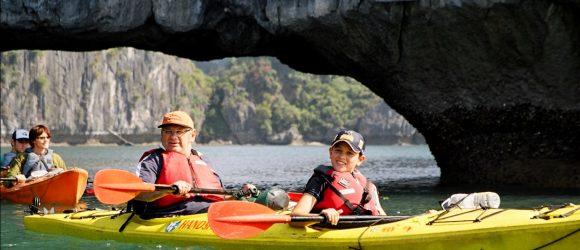 Kayaing with Treasure Junk