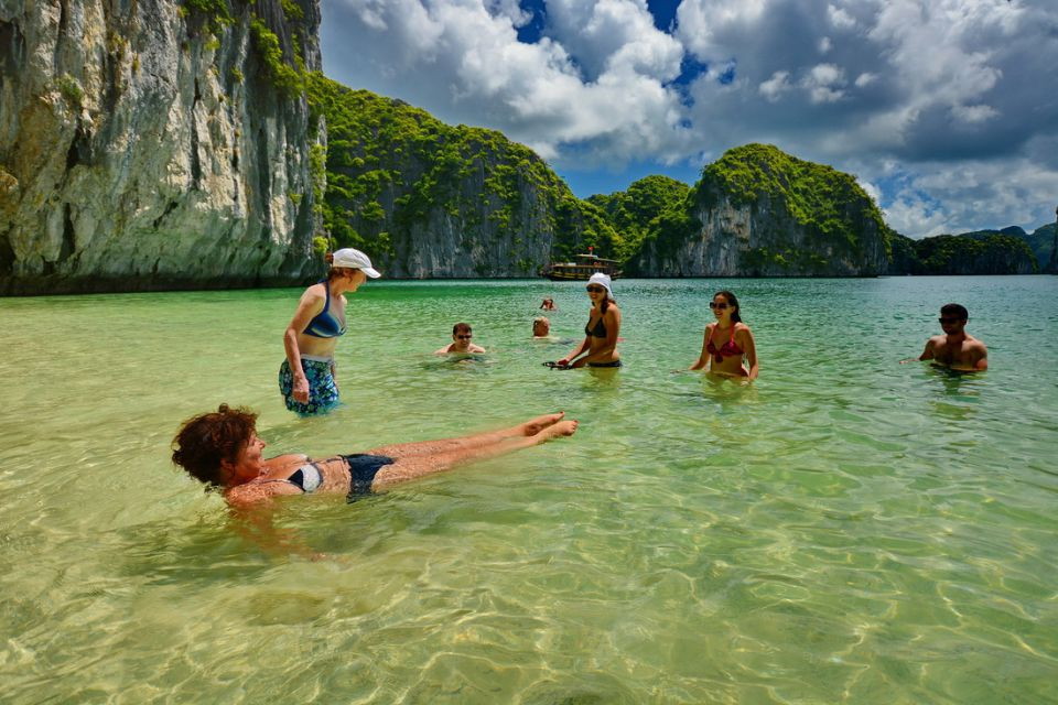 Enjoy Halong beach getaway