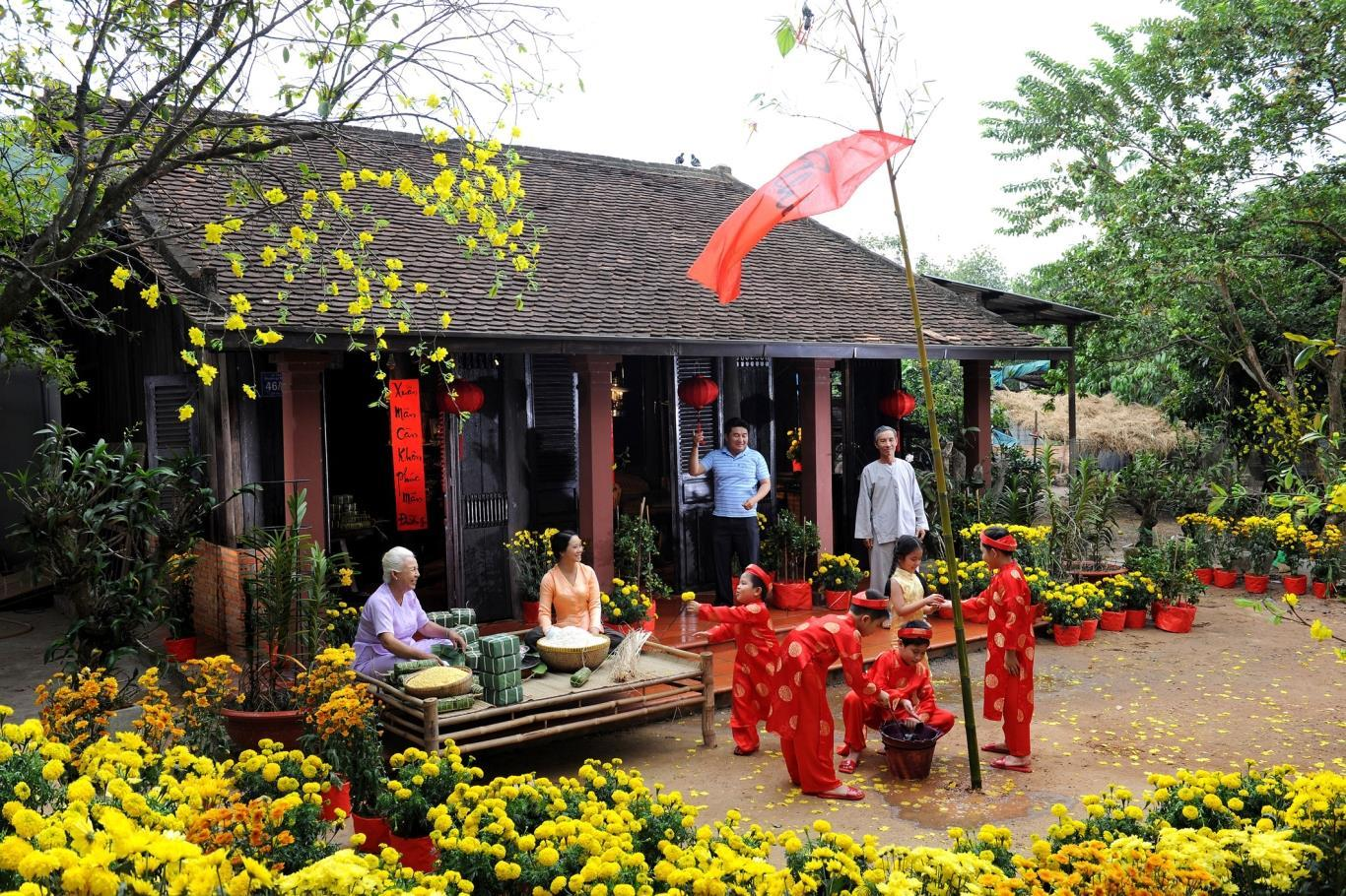 Tet is the most important national holiday in Vietnam