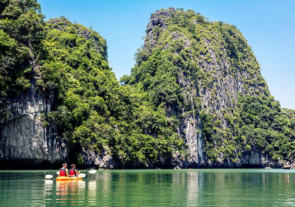 Kayaking with Treasure Junk