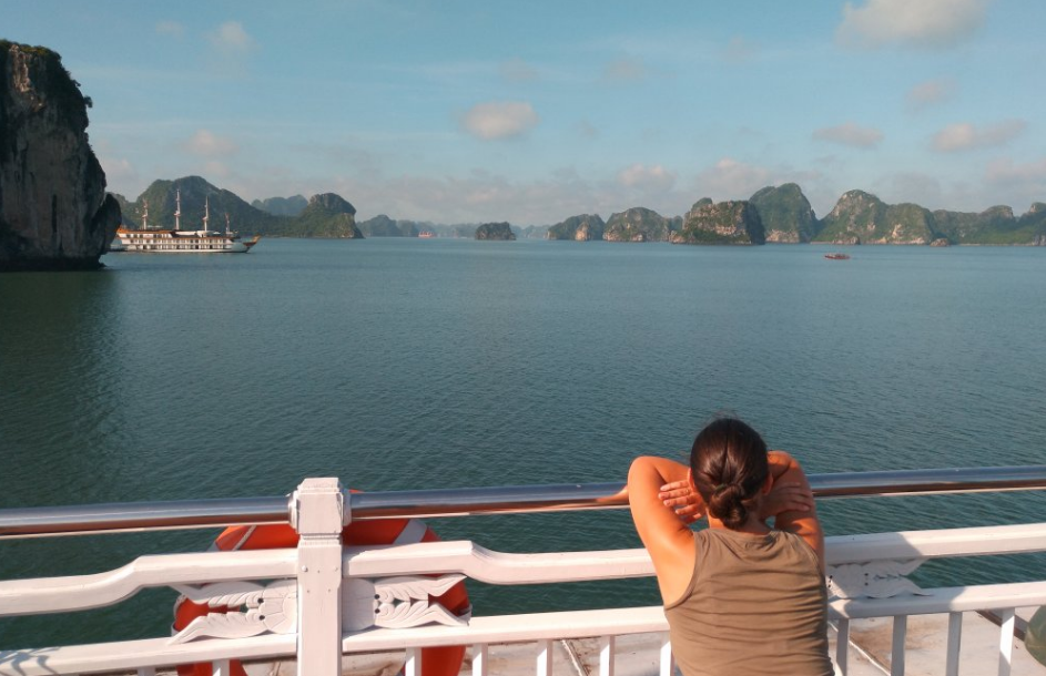 Explore the most coastal road in Halong Bay