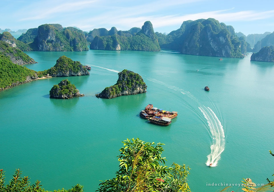 Amazing view of Halong Bay