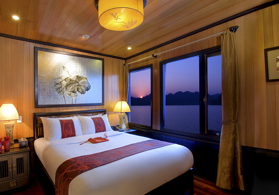 Indochina Sails Pre Suites cabins 1