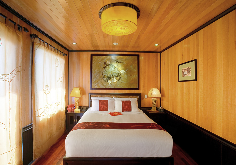 Indochina Sails Suite Double Cabins