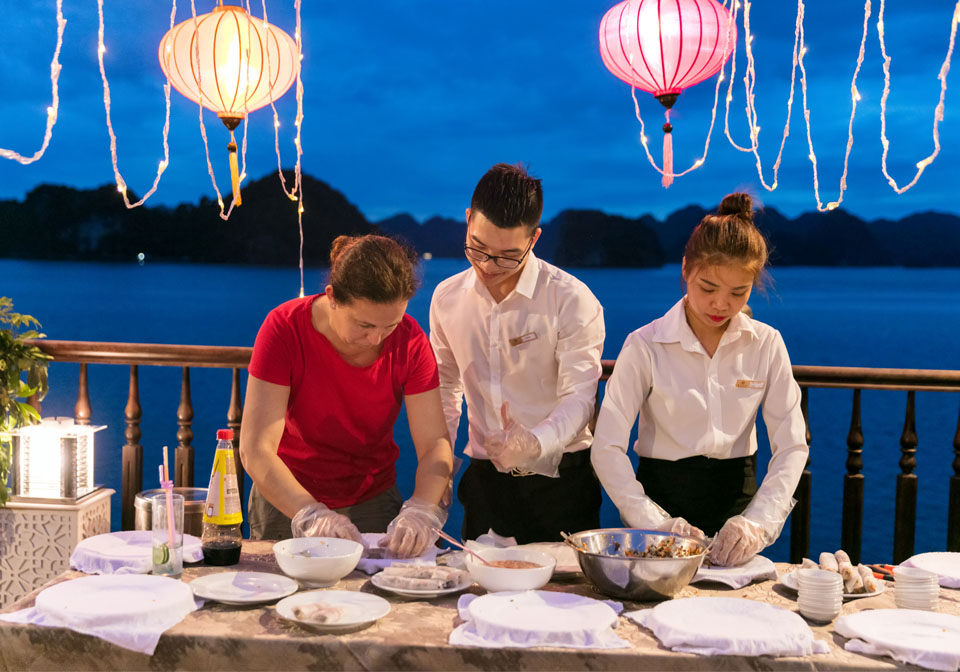 Alisa Premier Cruise cooking class
