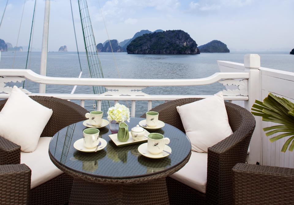 Aphrodite Cruise restaurant ship