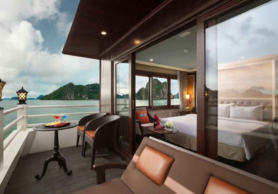 Athena Luxury Cruise balcony