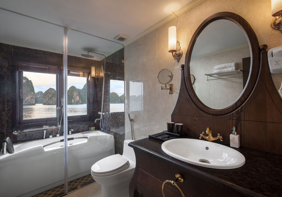 Athena Luxury Cruise bathroom