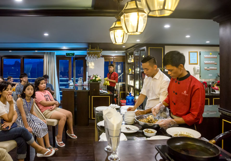 Athena Luxury Cruise cooking class