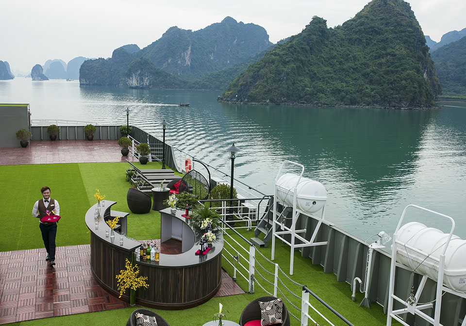 Era Cruises Halong Bay Sundeck Thumbnail