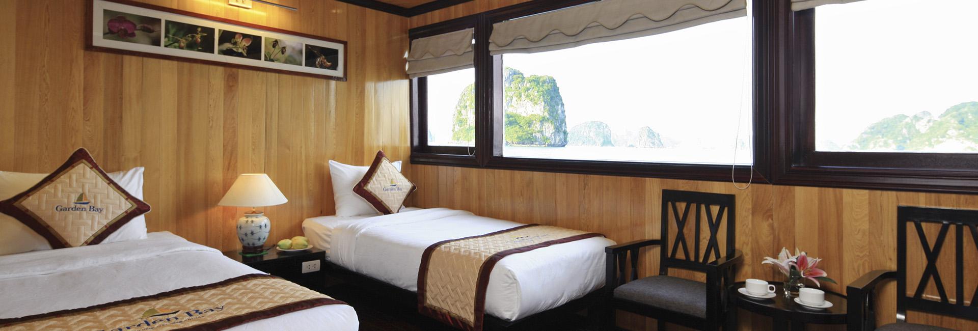 Garden Bay Luxury Cruise Banner 2