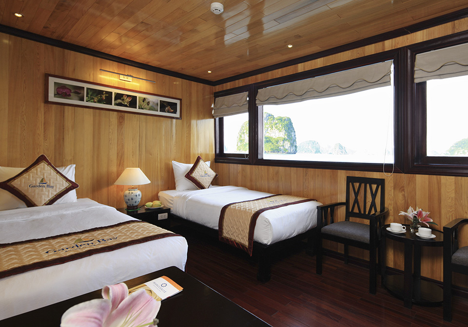 Garden Bay Luxury Cruise Double suite