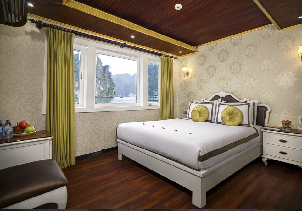 Halong Majestic Cruise double room