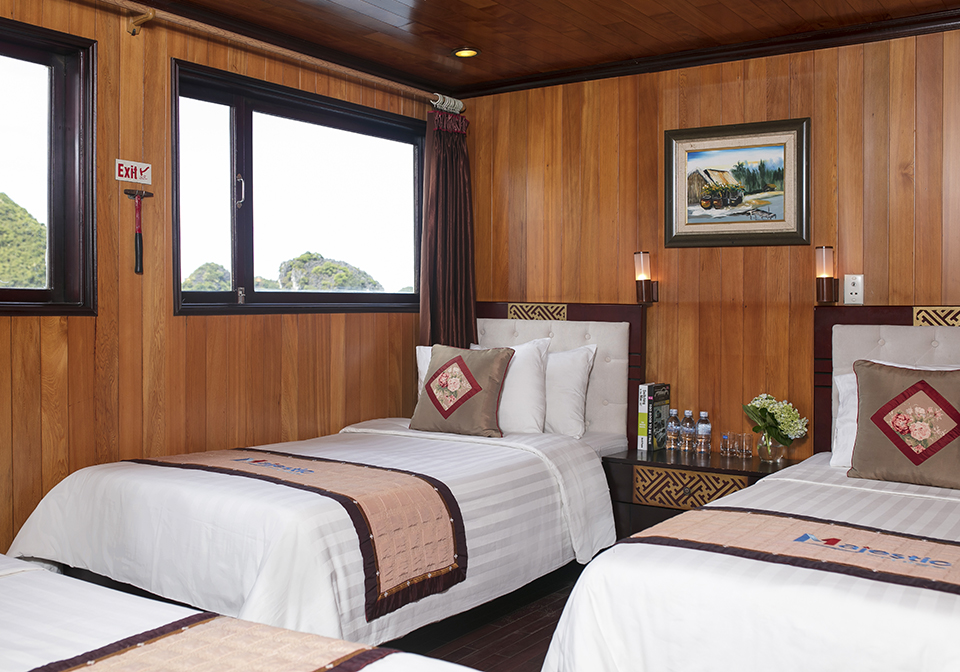 Halong Majestic Cruise triple room