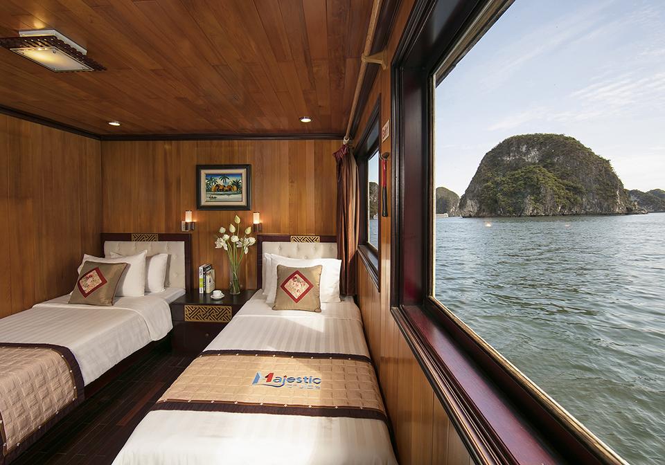 Halong Majestic Cruise twin room 1