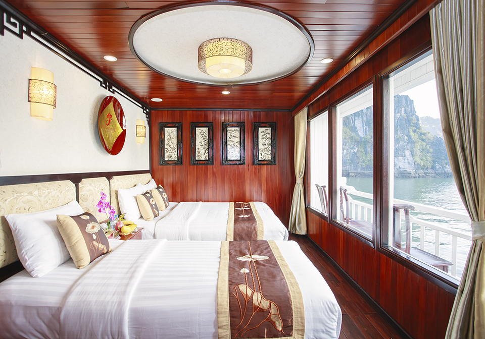 Halong Viola Cruise Family Room