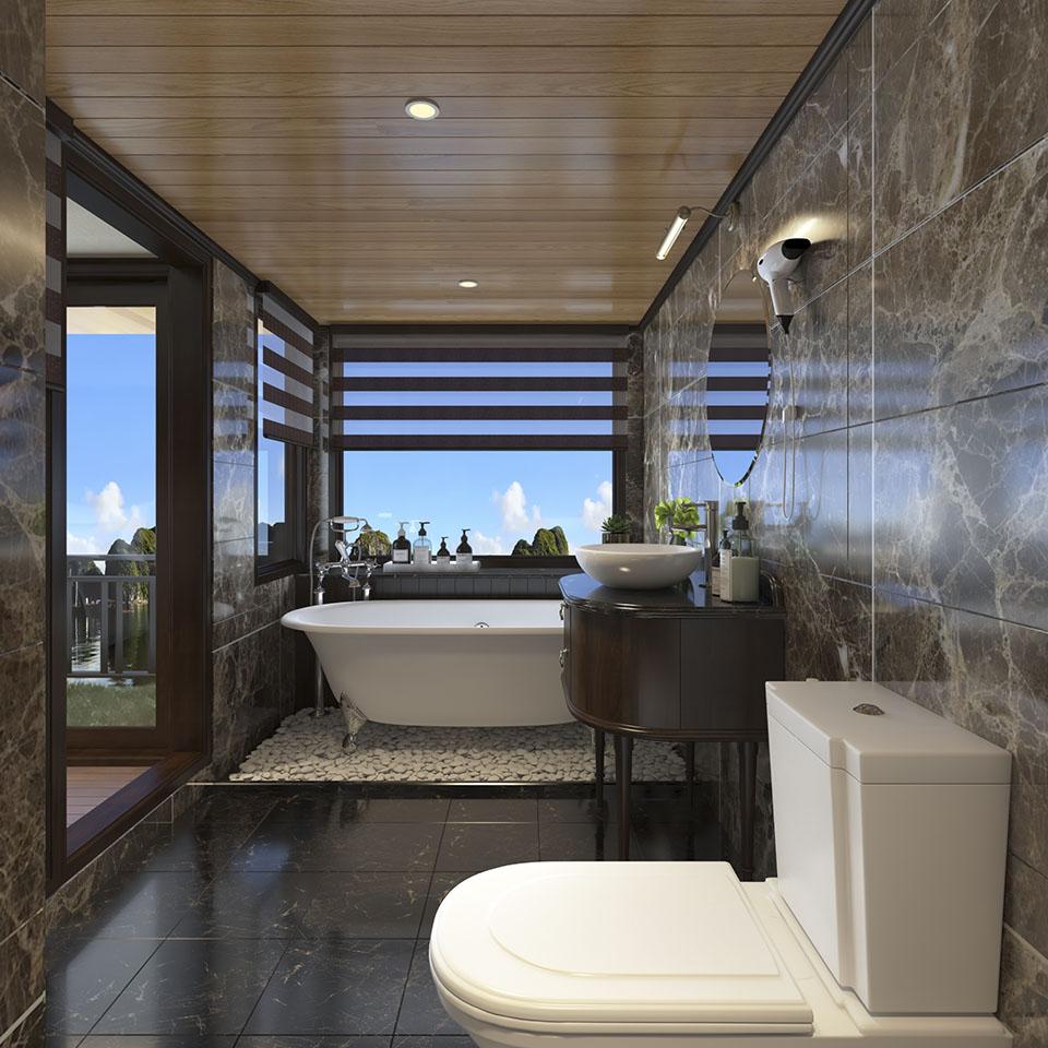 Magaret Cruise Bathroom