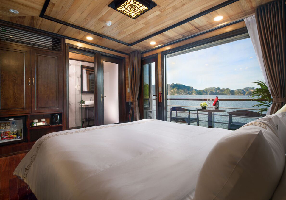 Perla Dawn Sails double room