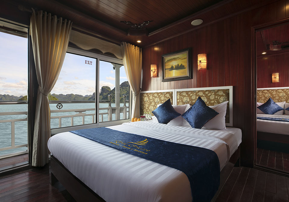 Rose Cruise Halong Connecting room