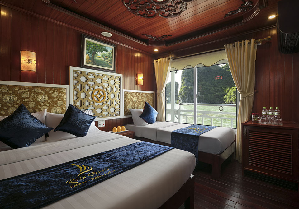 Rose Cruise Halong Triple room