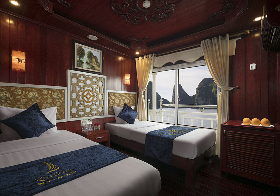 Rose Cruise Halong Twin room