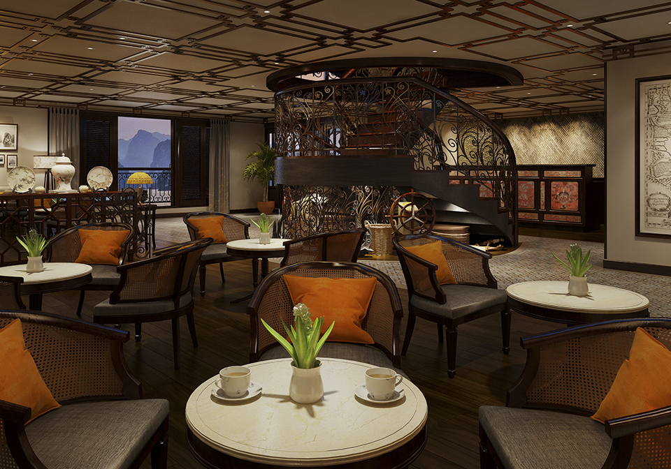 Indochine Cruise restaurant 1