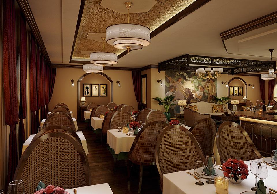 Indochine Cruise restaurant