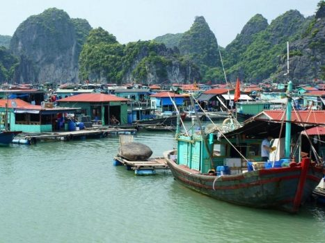 Cua Van fishing village was voted one of the most stunning villages on earth.