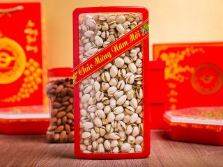 Healthy nuts and seeds for Vietnamese Tet Holiday
