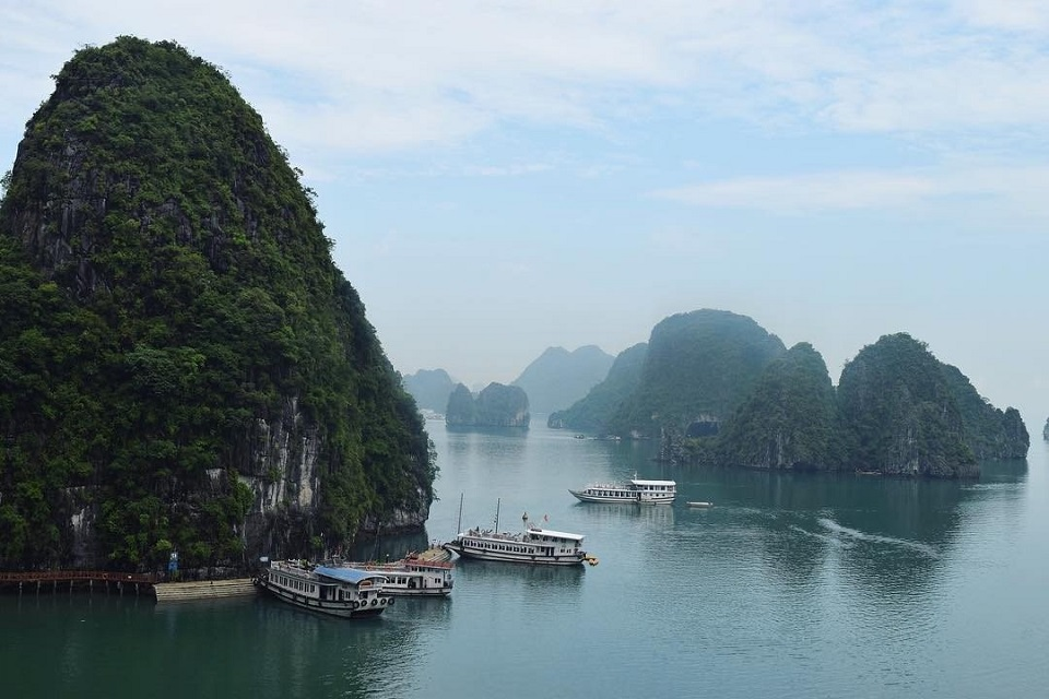 Halong Bay in autumn