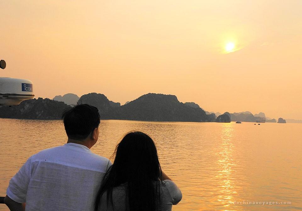 Halong bay honeymoon trip
